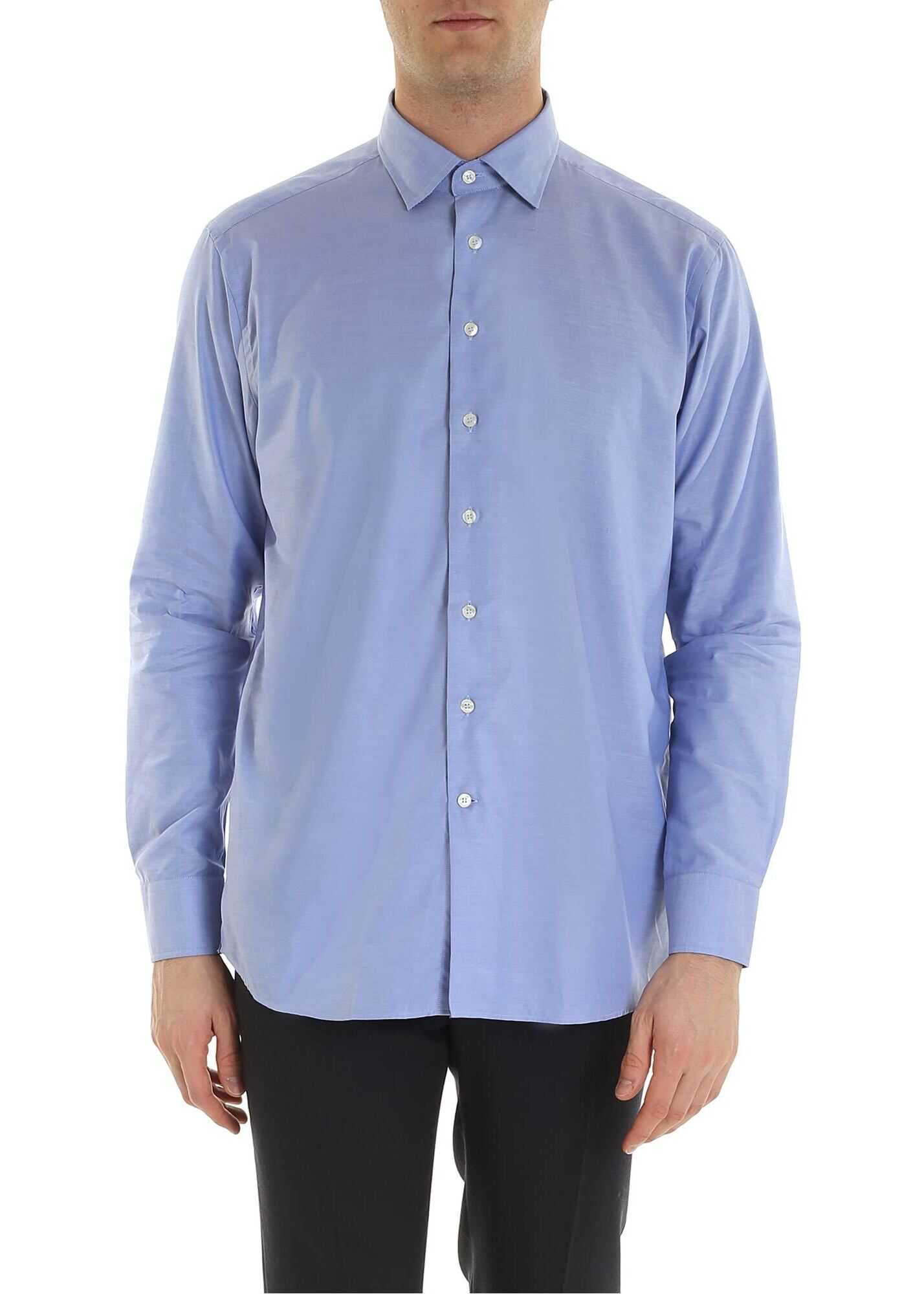 ETRO Oxford Shirt In Light Blue Color thumbnail