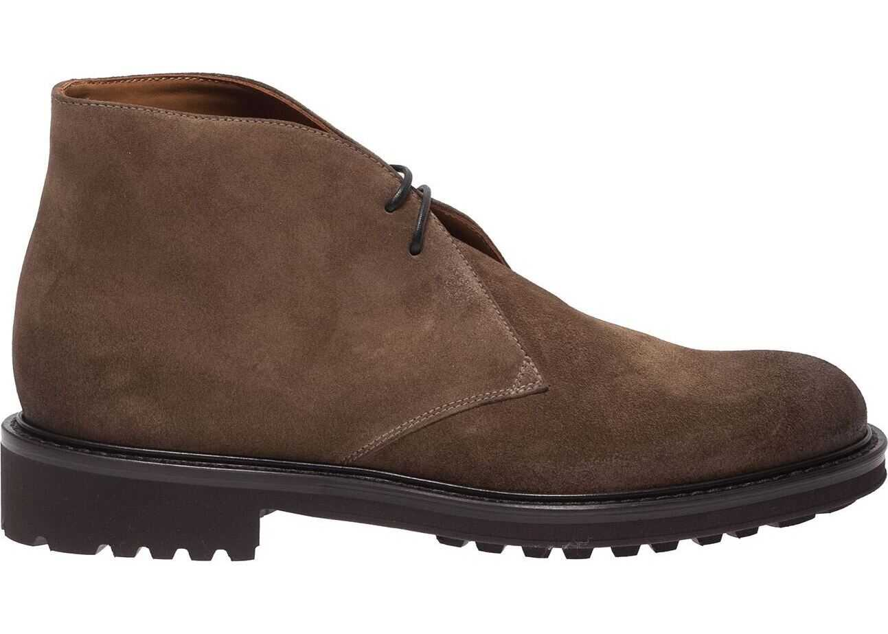 Desert Boots In Tobacco-Colored Suede thumbnail