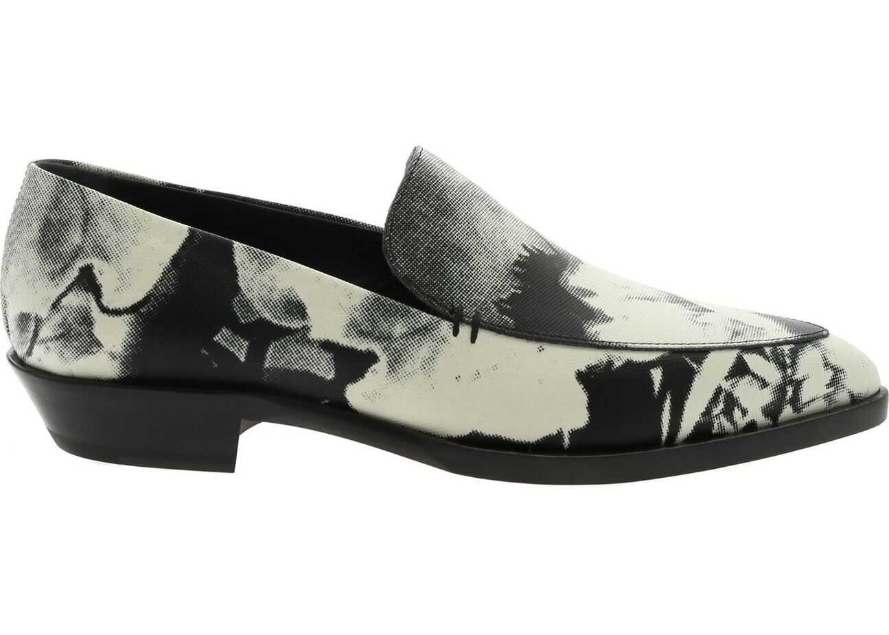 Paul Smith Janell Shoes In Black And White Black