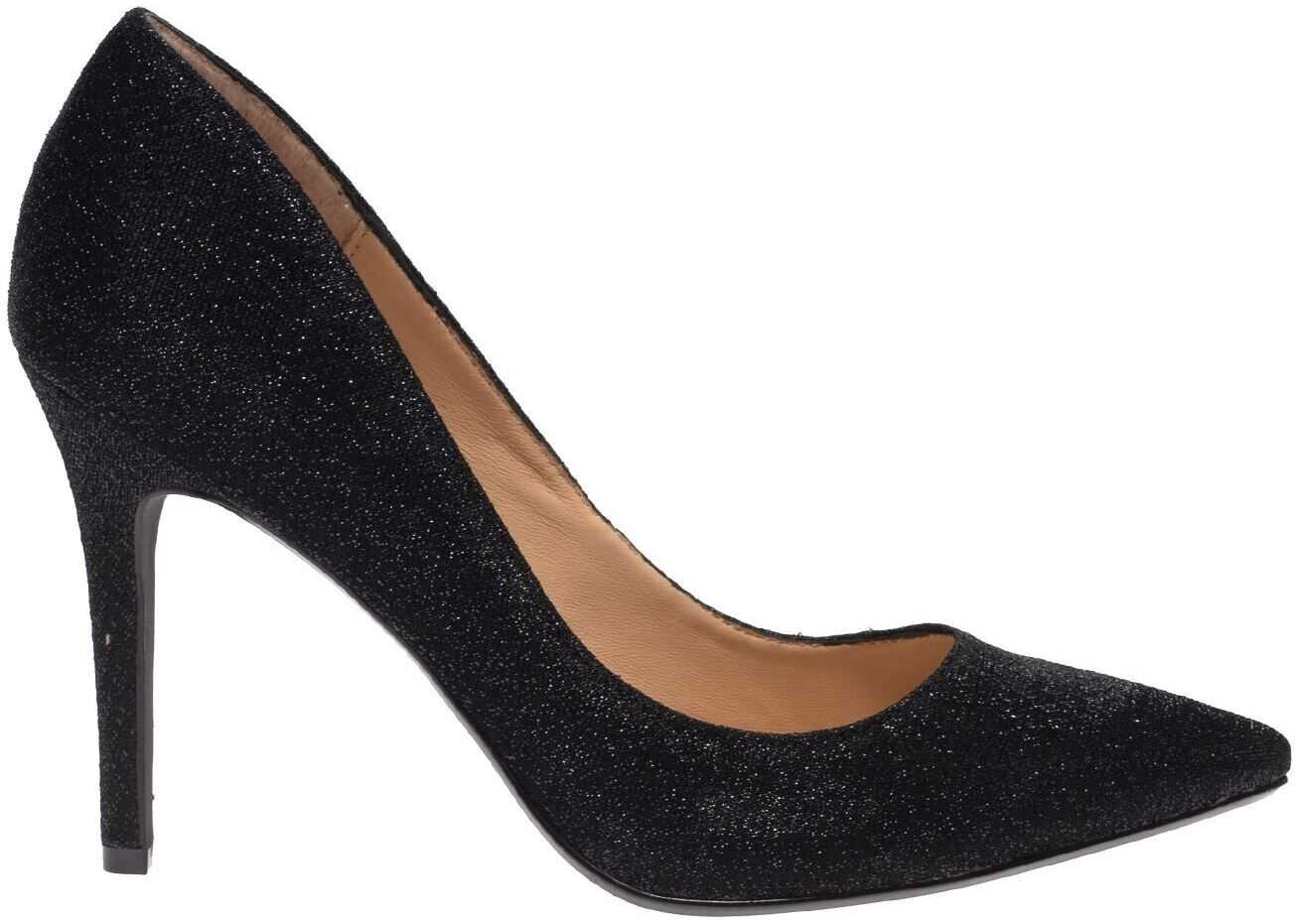 Reese Pumps In Black Sparkle thumbnail