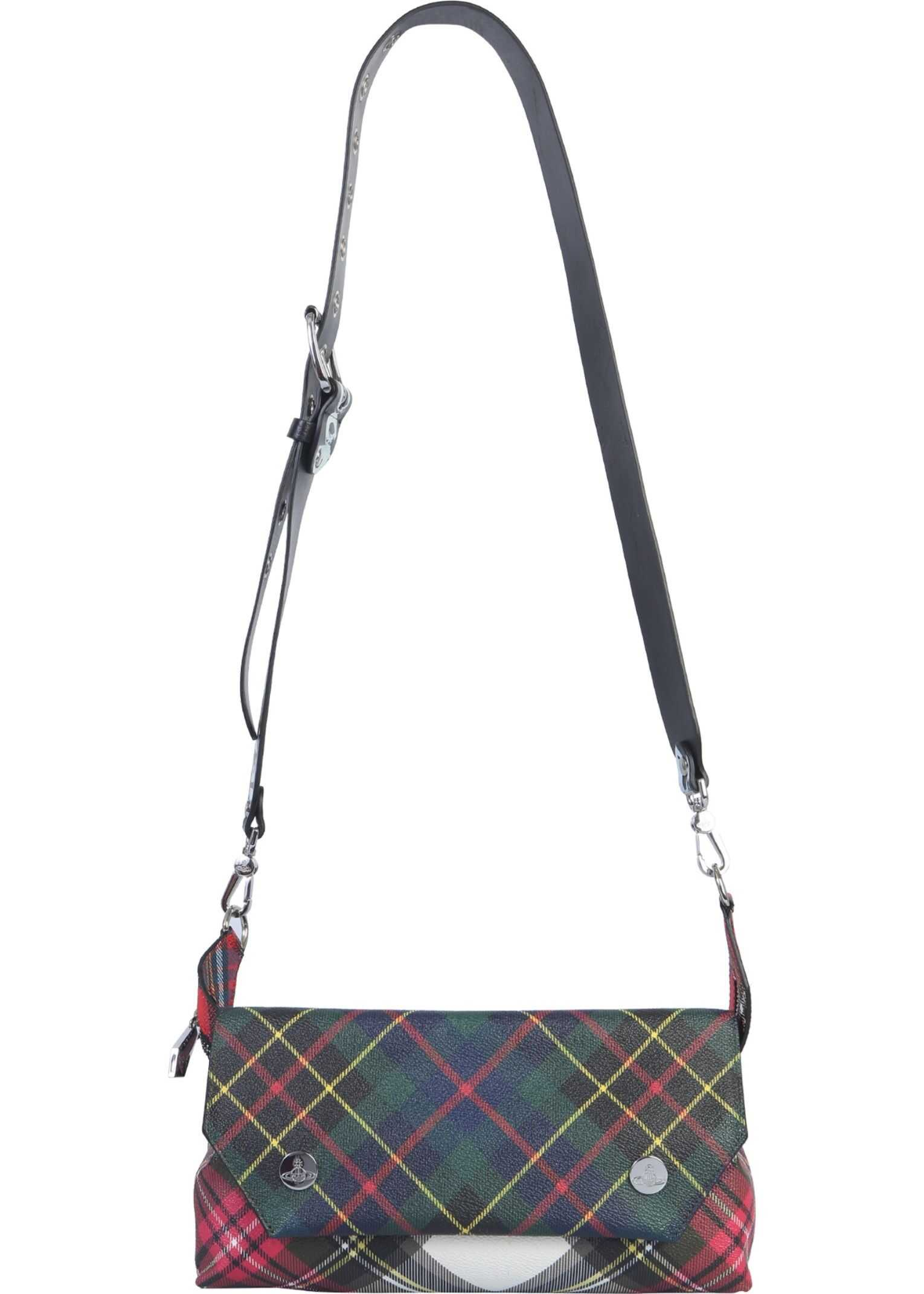 Vivienne Westwood Small Edie Shoulder Bag MULTICOLOUR