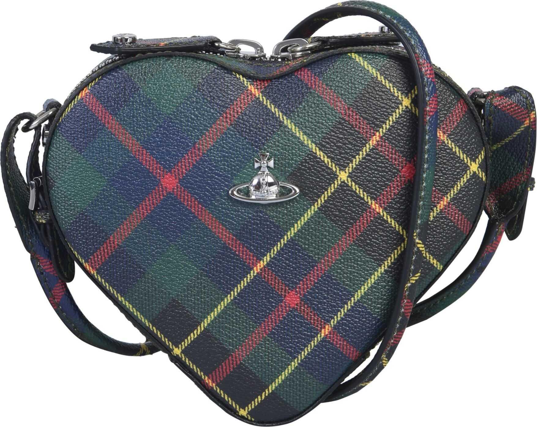 Vivienne Westwood Heart Bag MULTICOLOUR