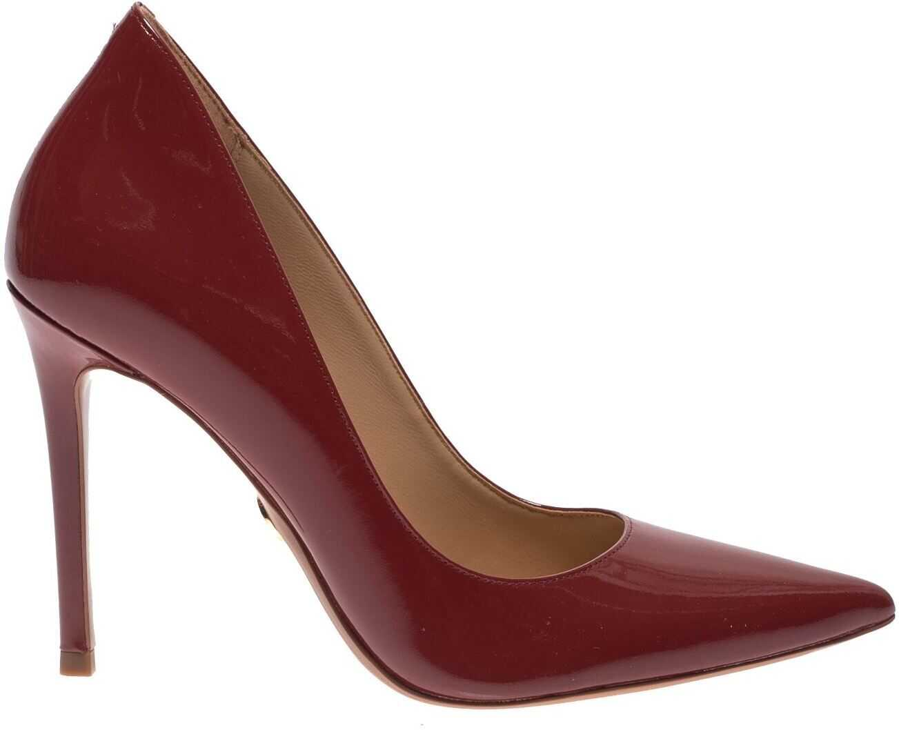 Pointed Keke Pumps In Brandy Color thumbnail