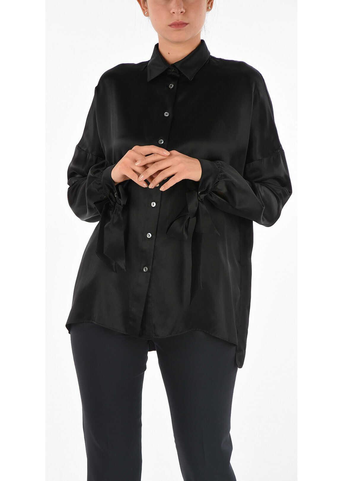 P.A.R.O.S.H. Silk Blouse BLACK