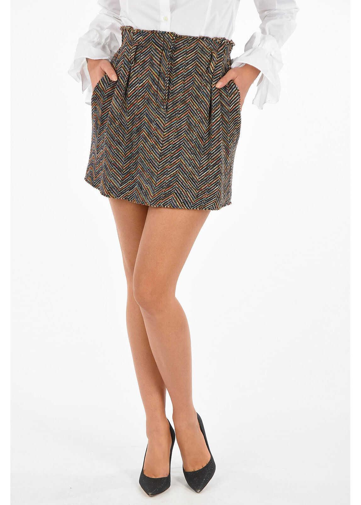 Knitted Mini Skirt thumbnail