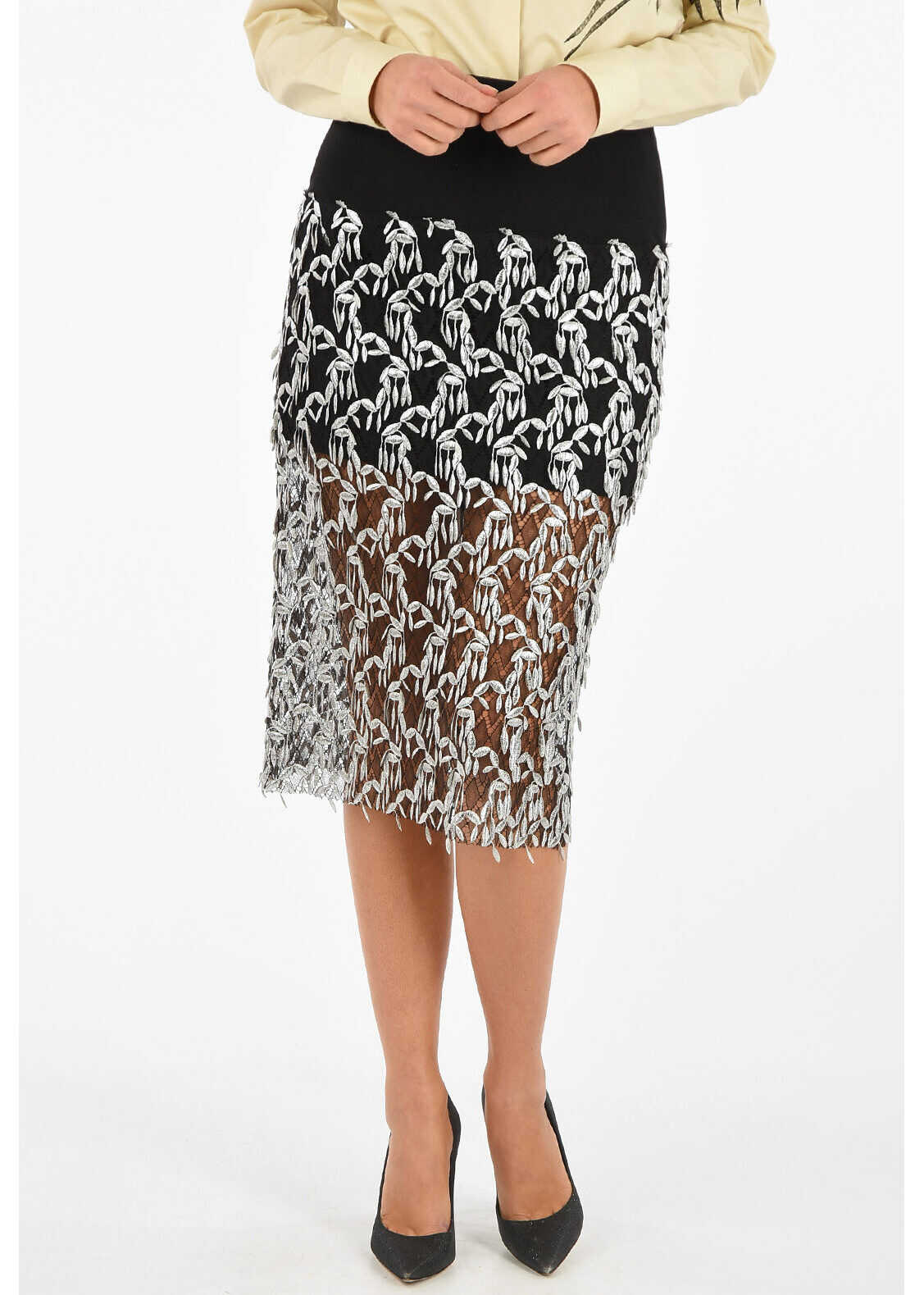 Laced Embroidered Skirt thumbnail
