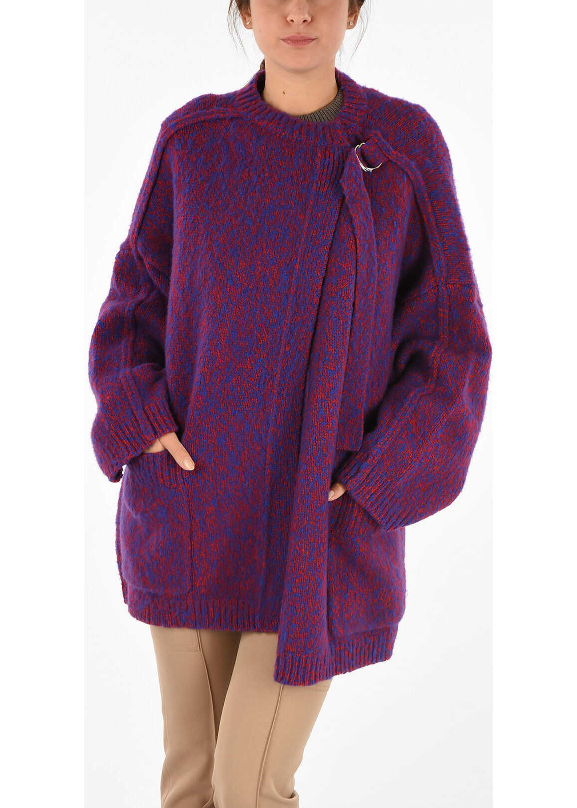 Chloe Knitted Coat MULTICOLOR
