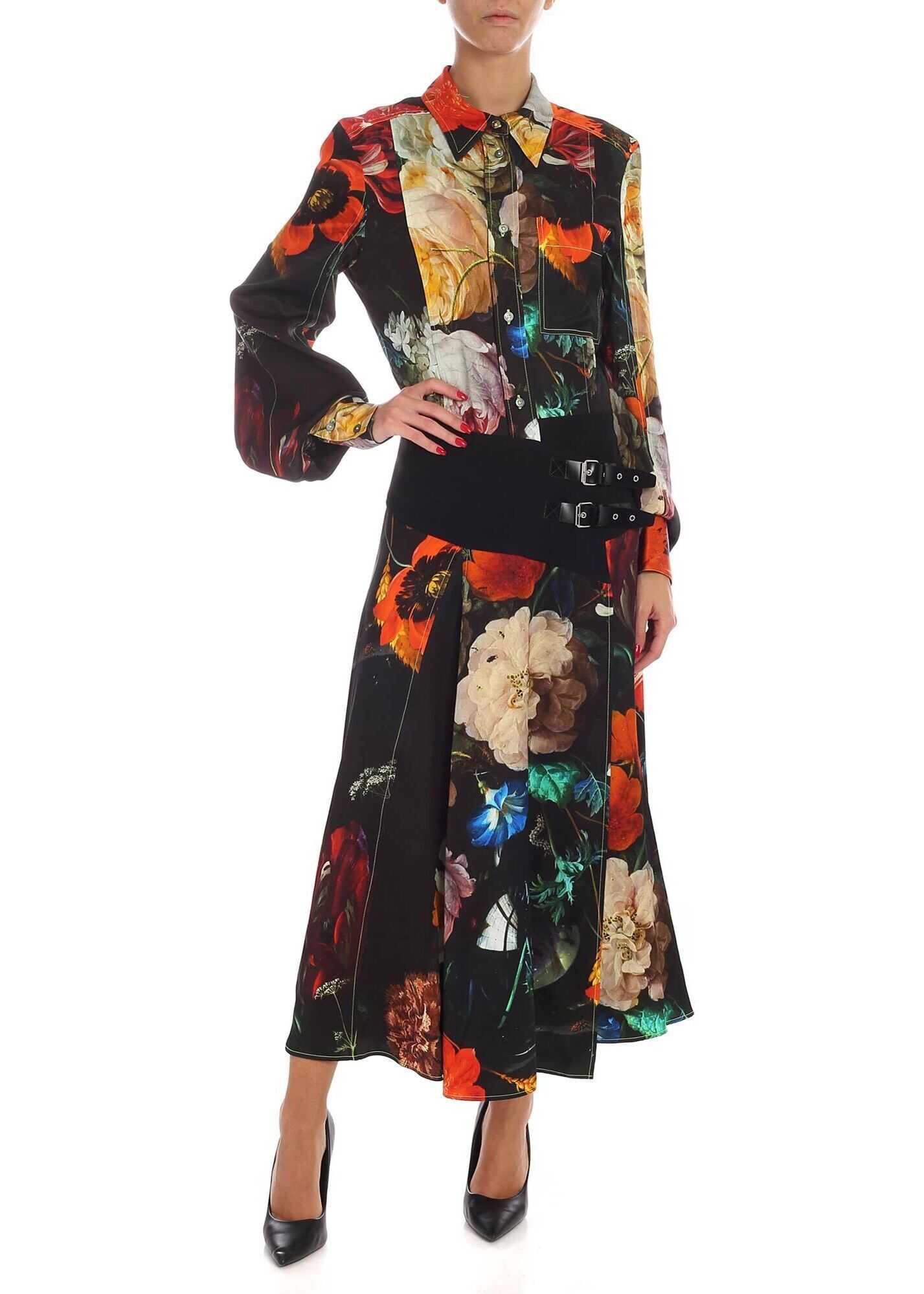 New Masters Multicolor Long Dress thumbnail