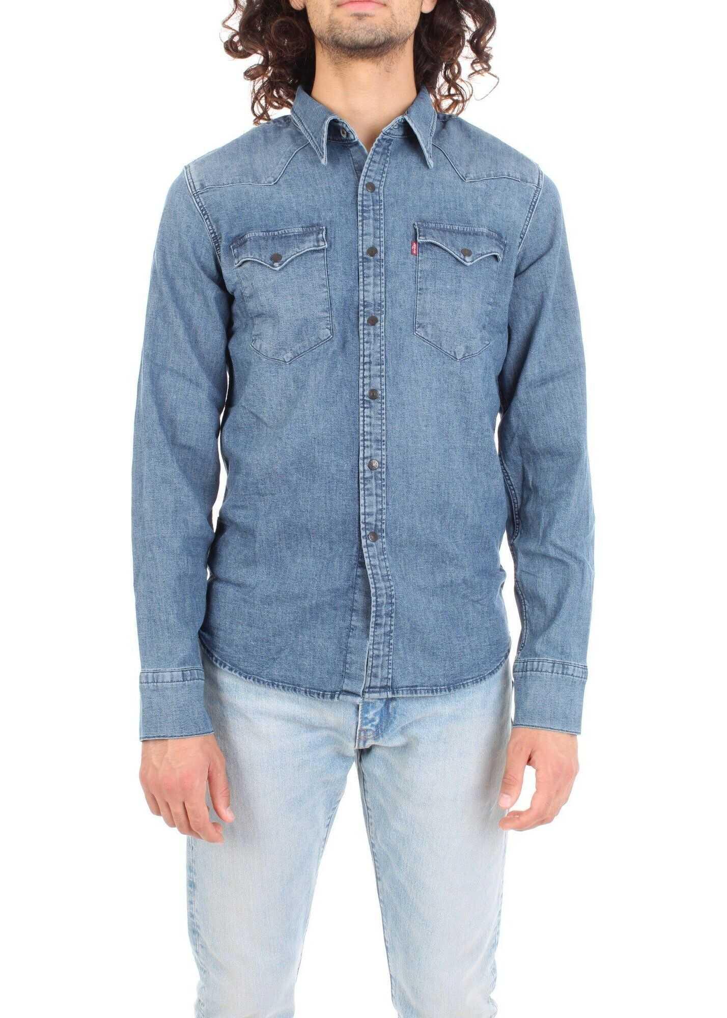 Levi's® Cotton Shirt BLUE