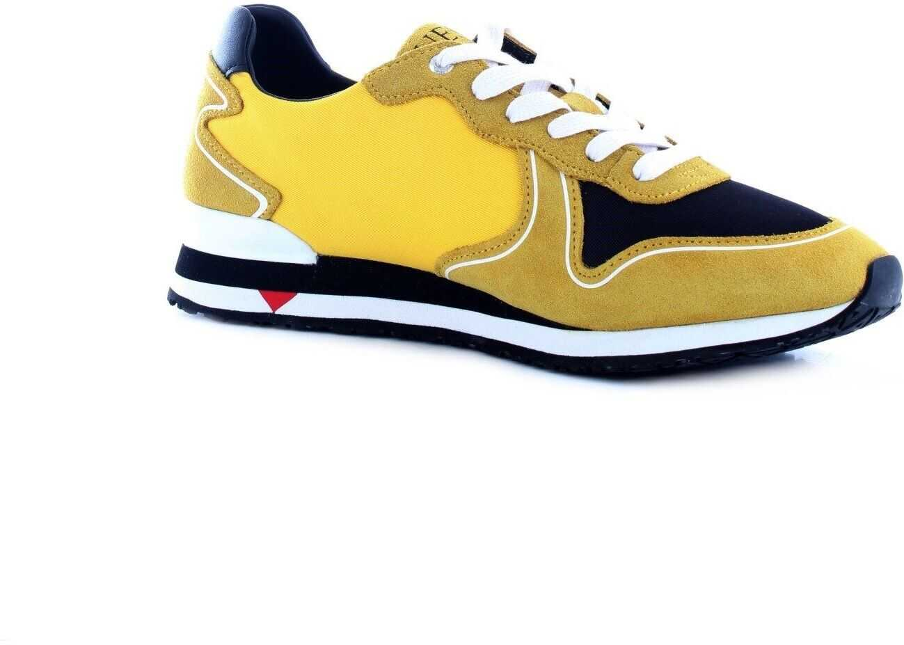 GUESS Suede Sneakers YELLOW