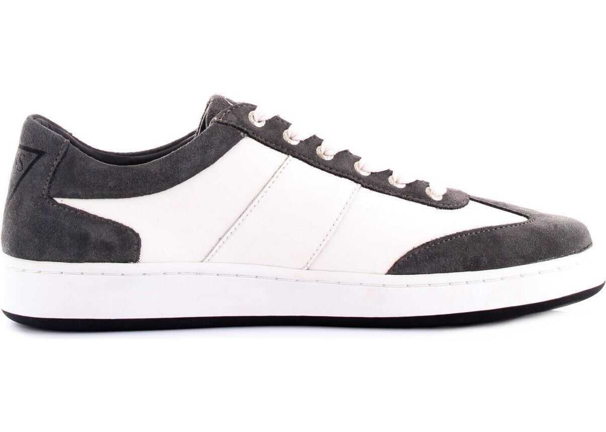 GUESS Leather Sneakers GREY