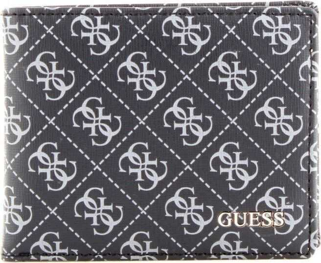 GUESS Polyester Wallet BLACK