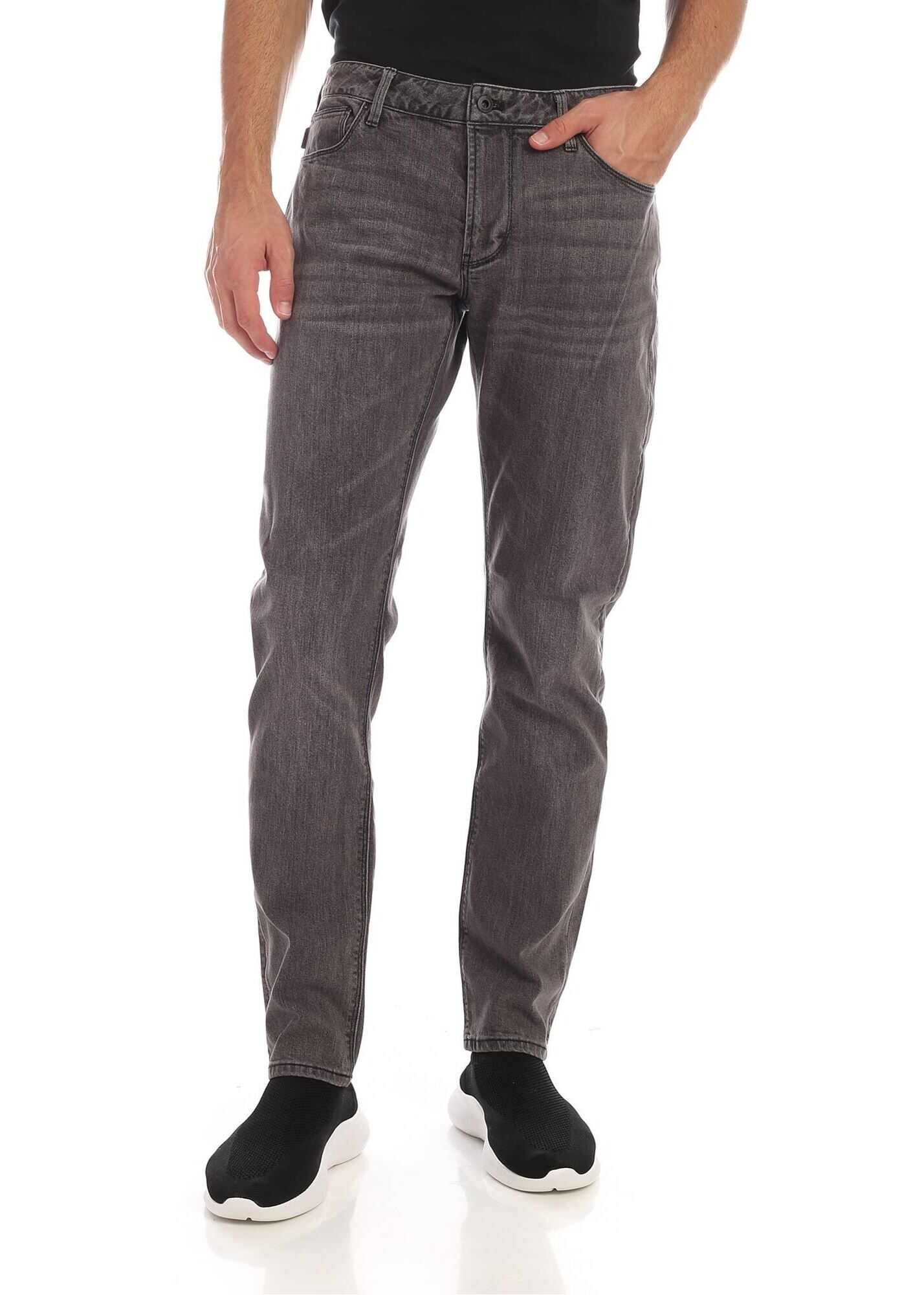 Black Faded Effect Jeans thumbnail