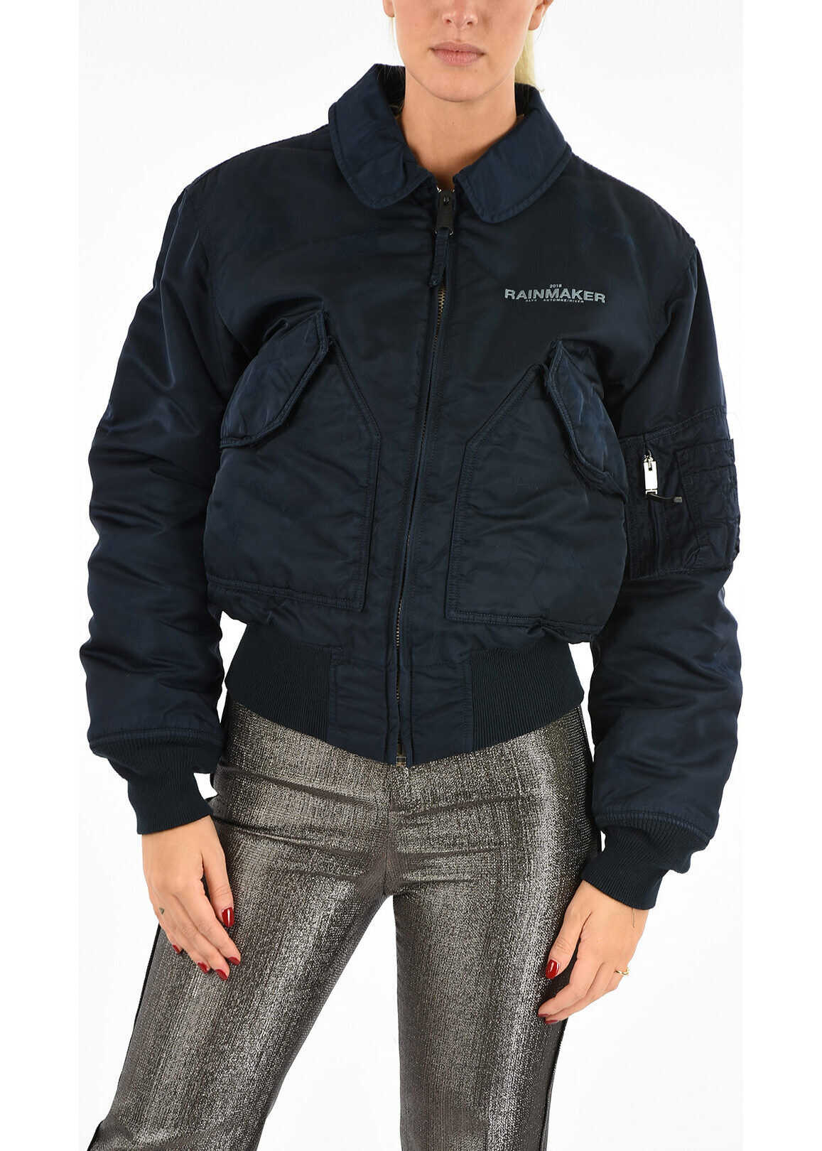 Bomber with Back Embroidery thumbnail