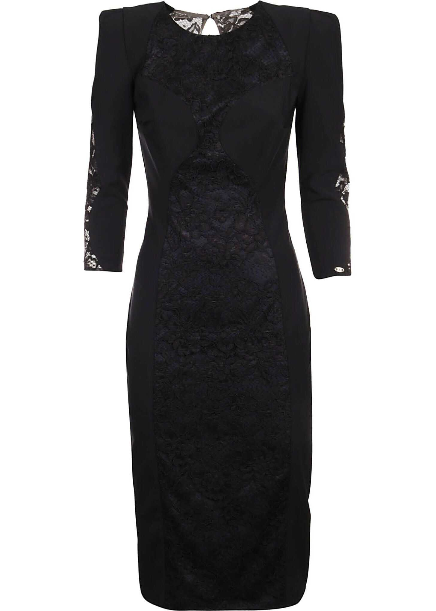 Elisabetta Franchi Polyamide Dress BLACK