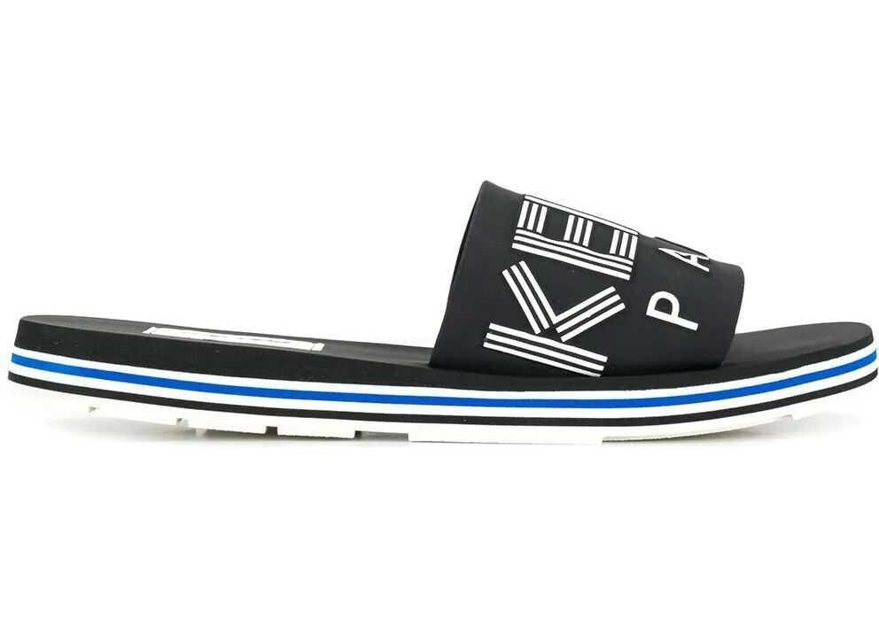 Kenzo Synthetic Fibers Sandals BLACK