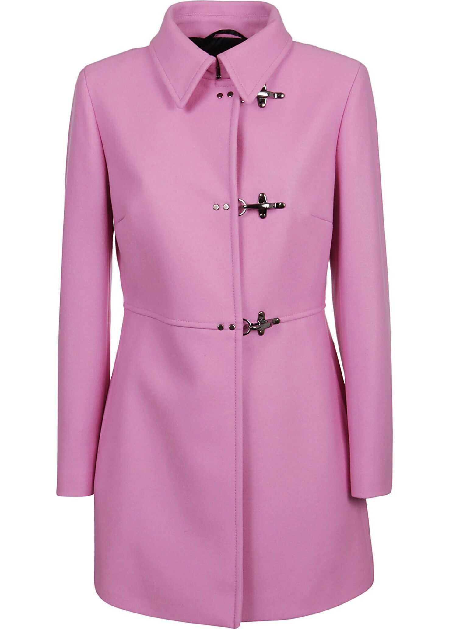 Fay Wool Coat PINK