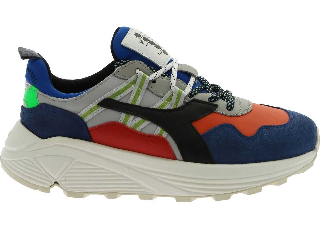Diadora Heritage Rave Pop Sneakers In Multicolor Multi