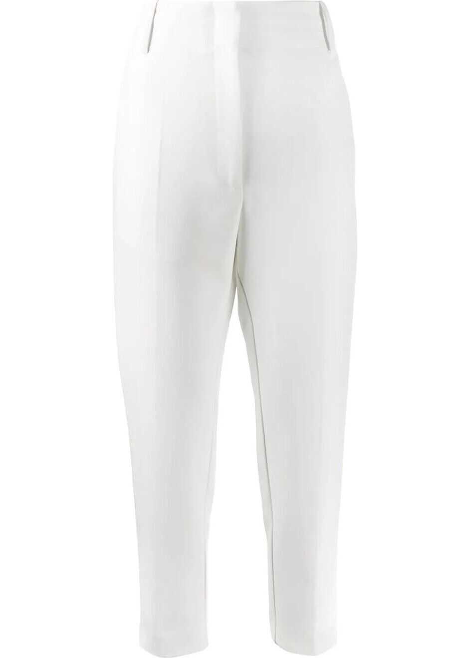 Pinko Polyester Pants WHITE
