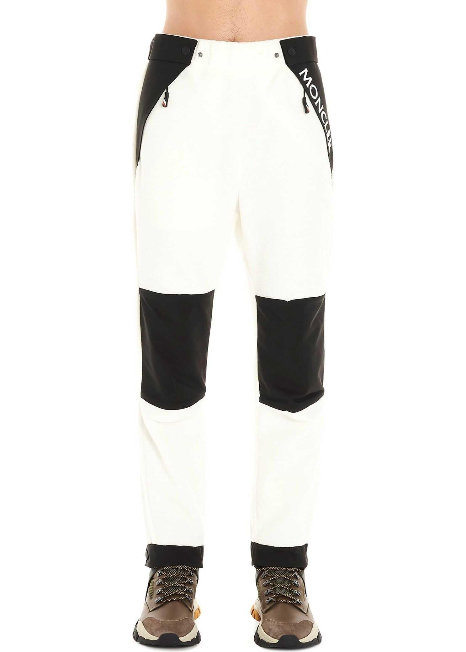 Moncler Polyester Pants WHITE