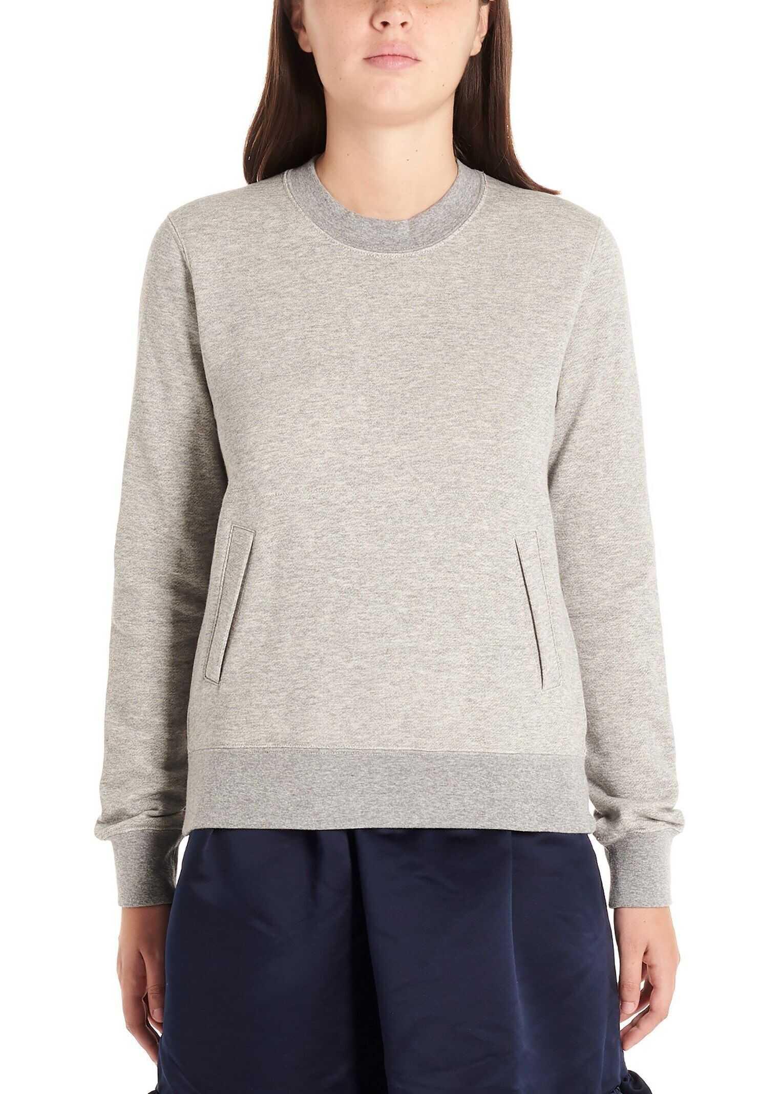 Comme des Garçons Cotton Sweatshirt GREY