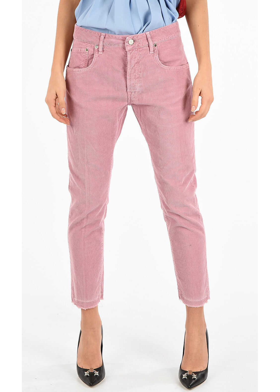 Golden Goose Ribbed Pants PINK