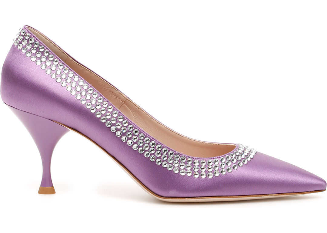Crystal Satin Pumps thumbnail