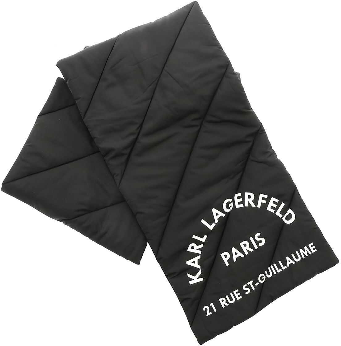 Logo Print Scarf In Black thumbnail