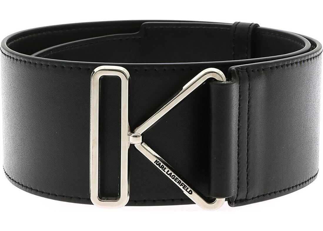 Karl Triangle Belt In Black thumbnail