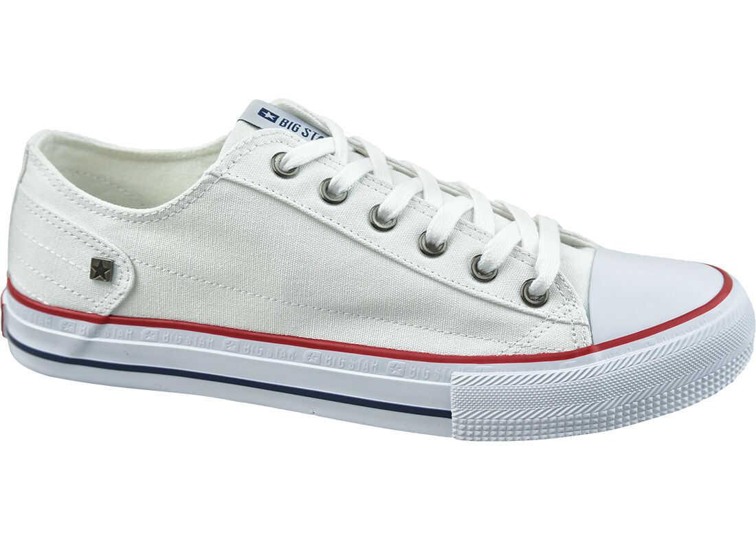 Big Star Shoes White