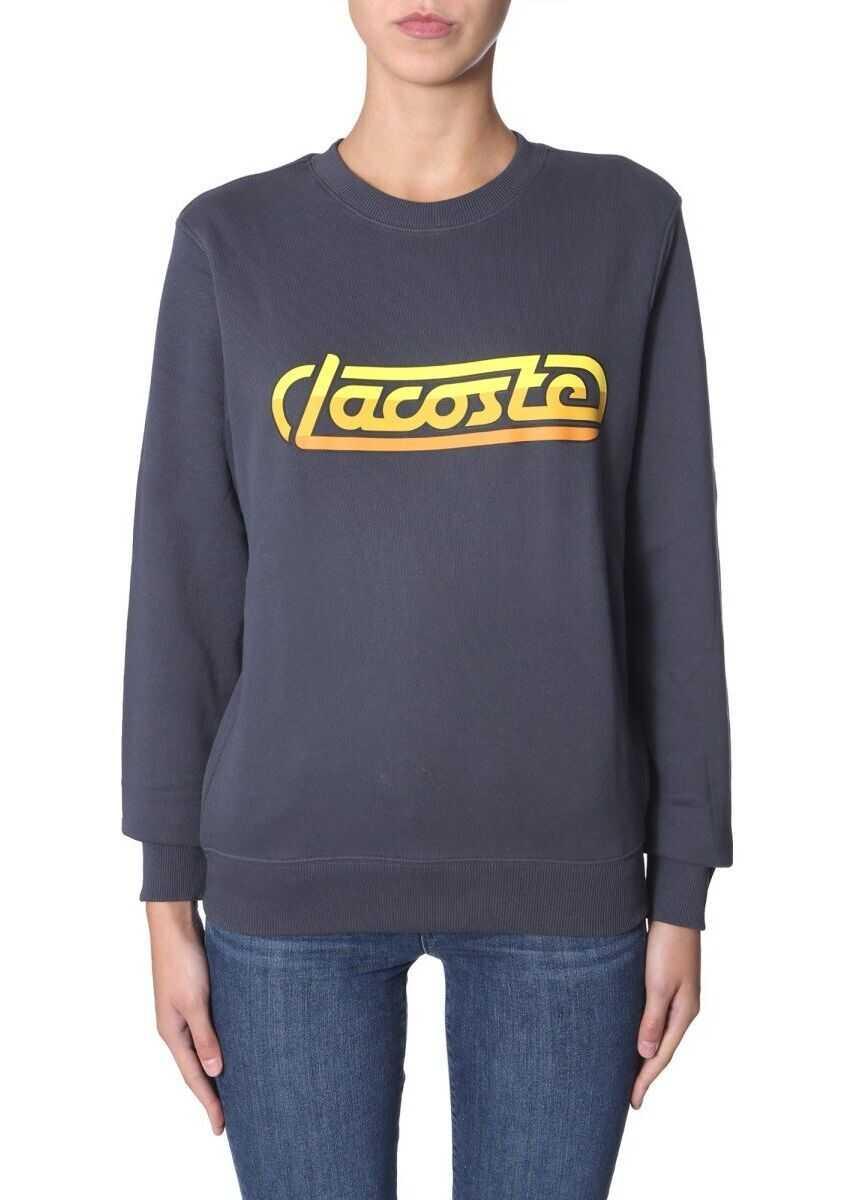 Lacoste Cotton Sweatshirt BLUE