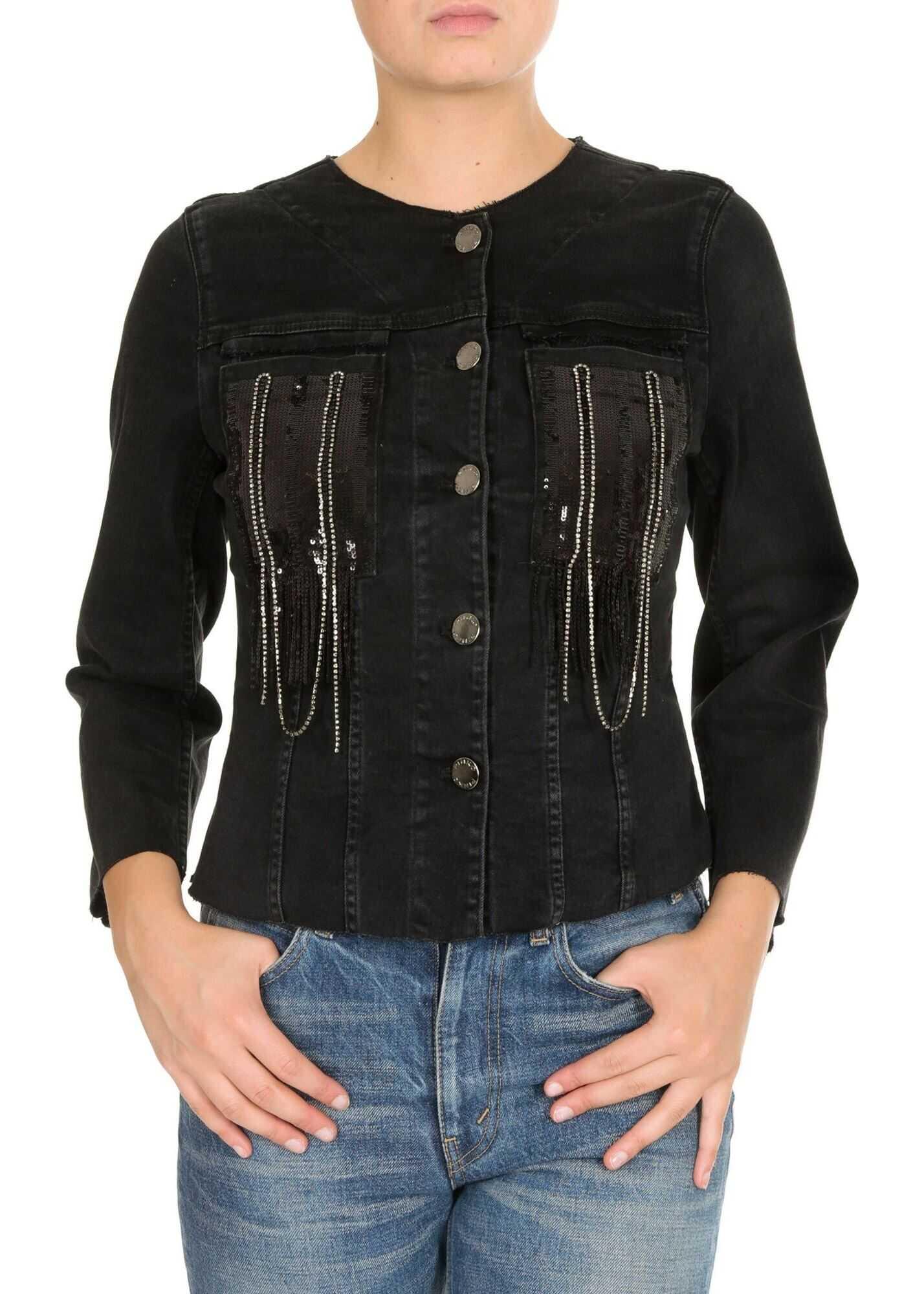 Pinko Joanna Jacket In Black Black