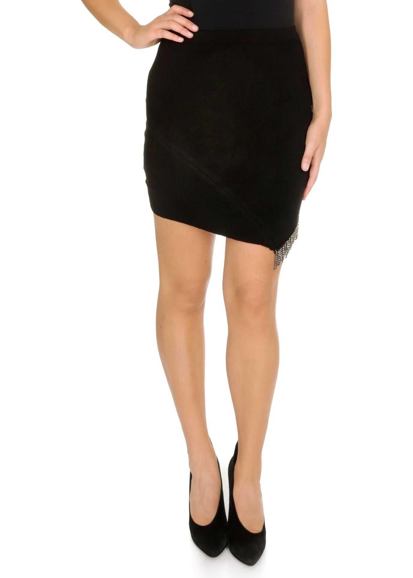 Pinko Probabilmente Skirt In Black Black