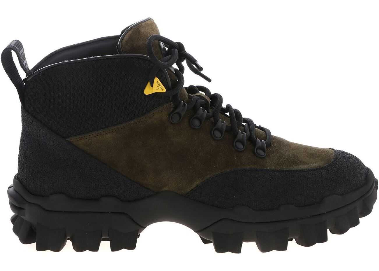 Moncler Hektor Ankle Boots In Green Green