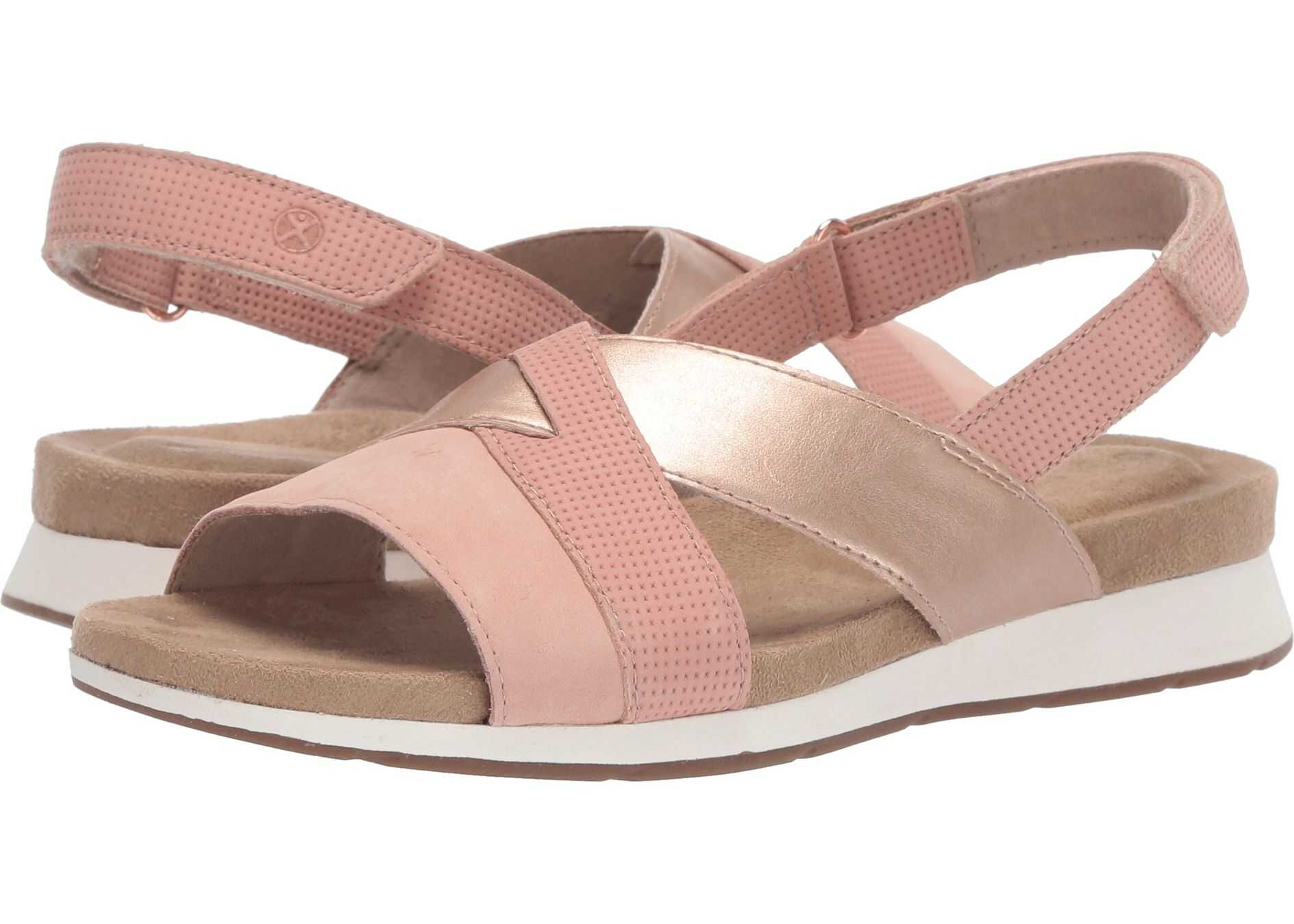 Hush Puppies Pepper Slingback Pale Peach Nubuck