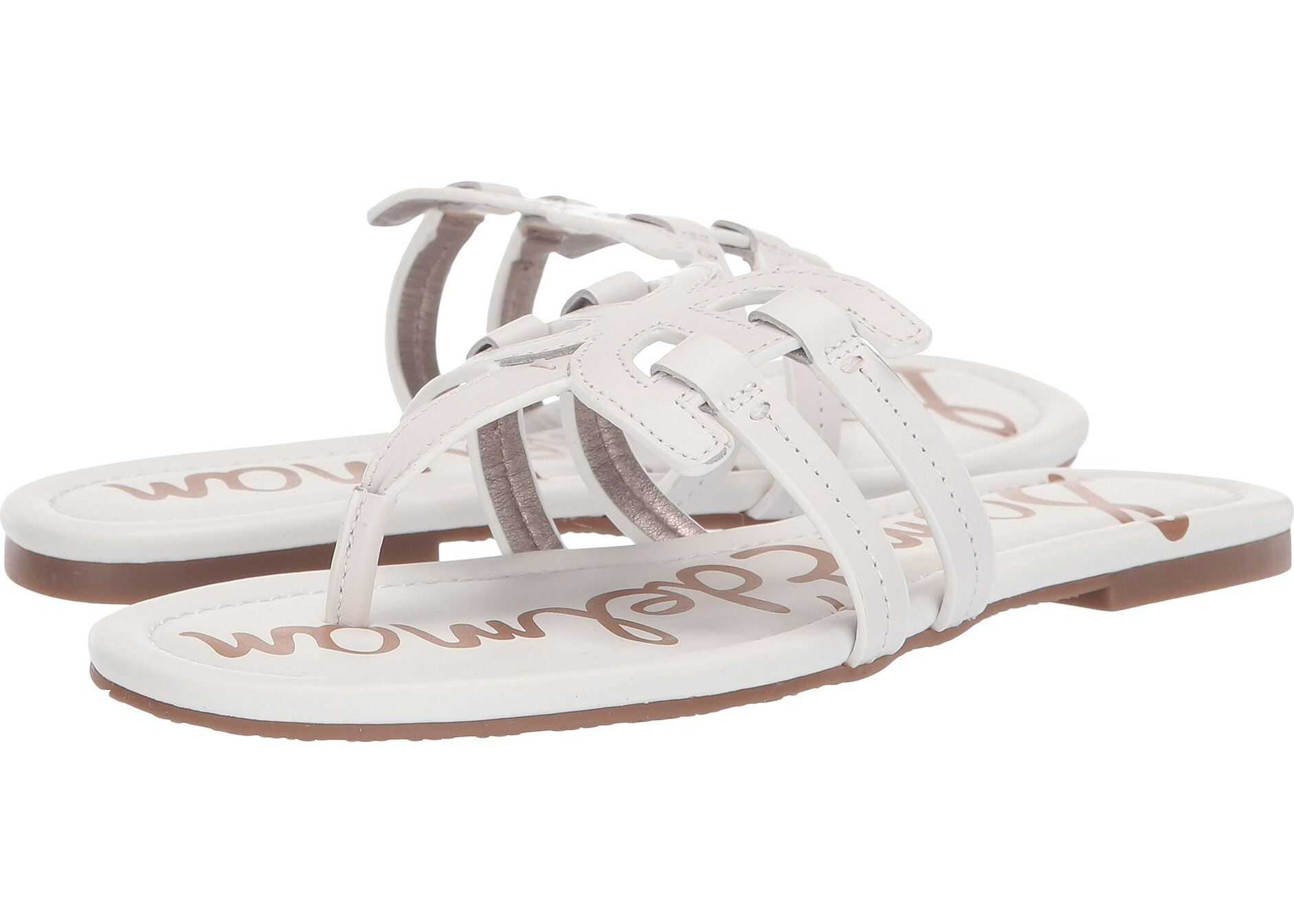 Sam Edelman Cara Bright White Atanado Leather