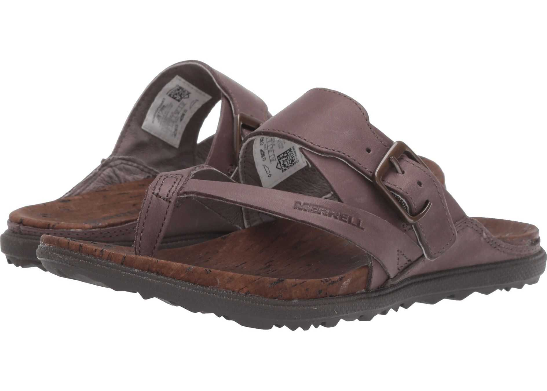 Merrell Around Town Luxe Buckle Thong Falcon