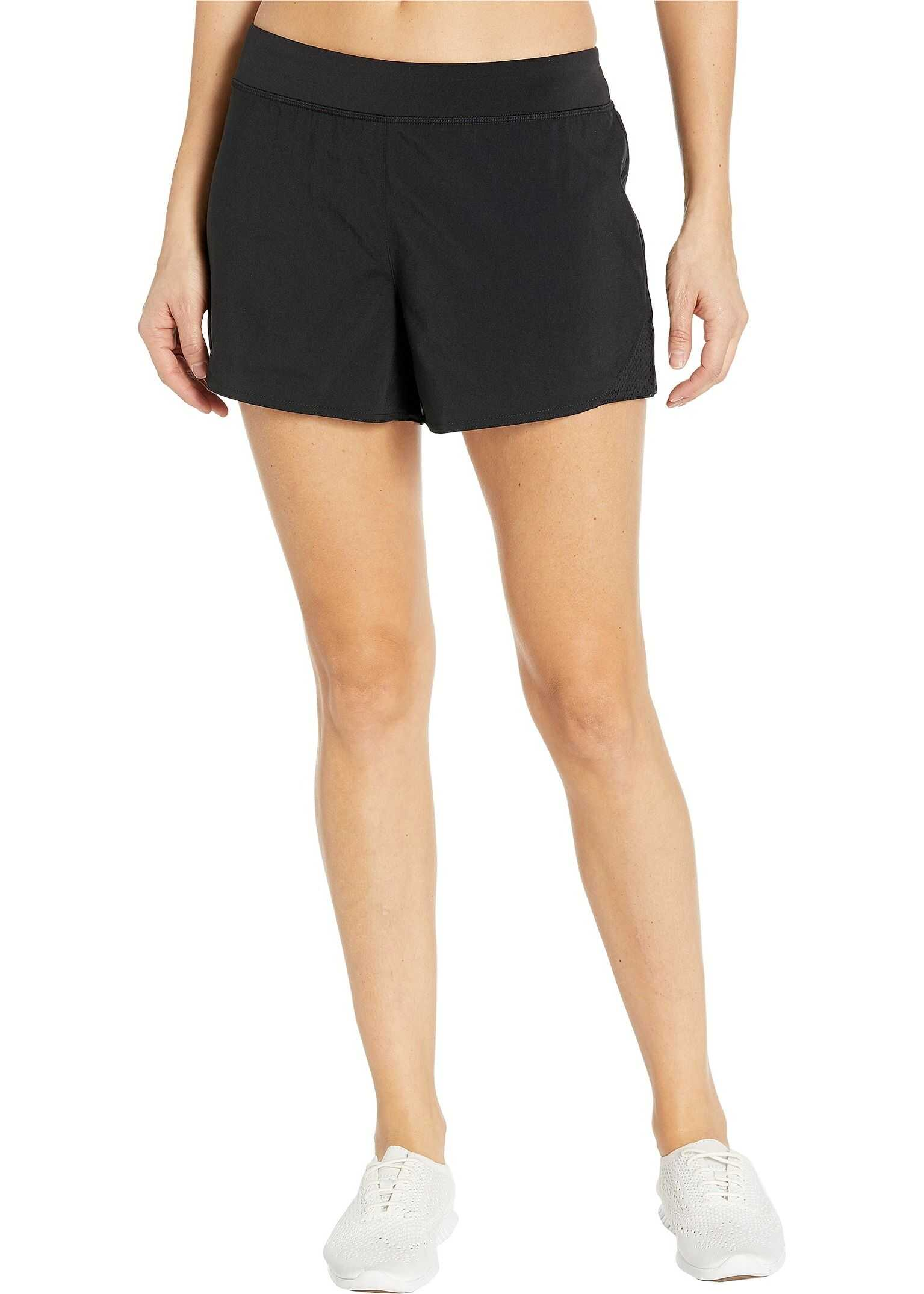Reebok Work Out Ready Knit Woven Shorts Black