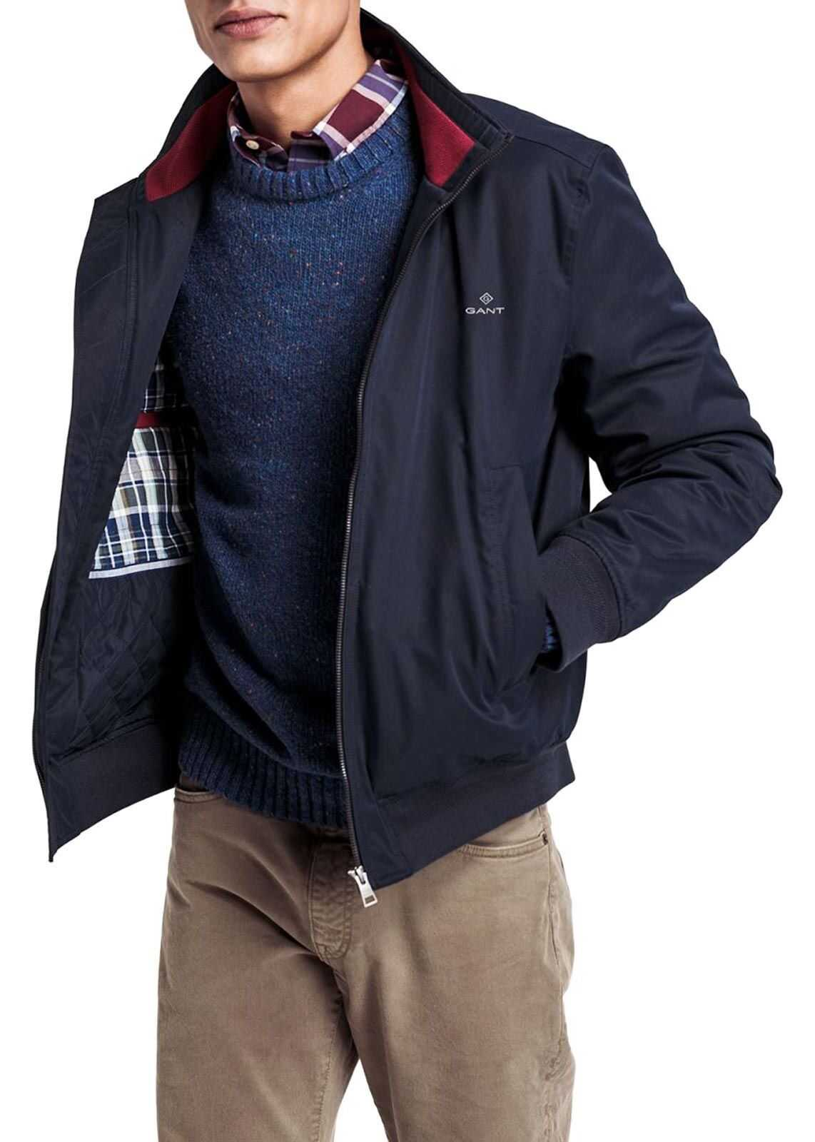 GANT Polyester Outerwear Jacket BLUE