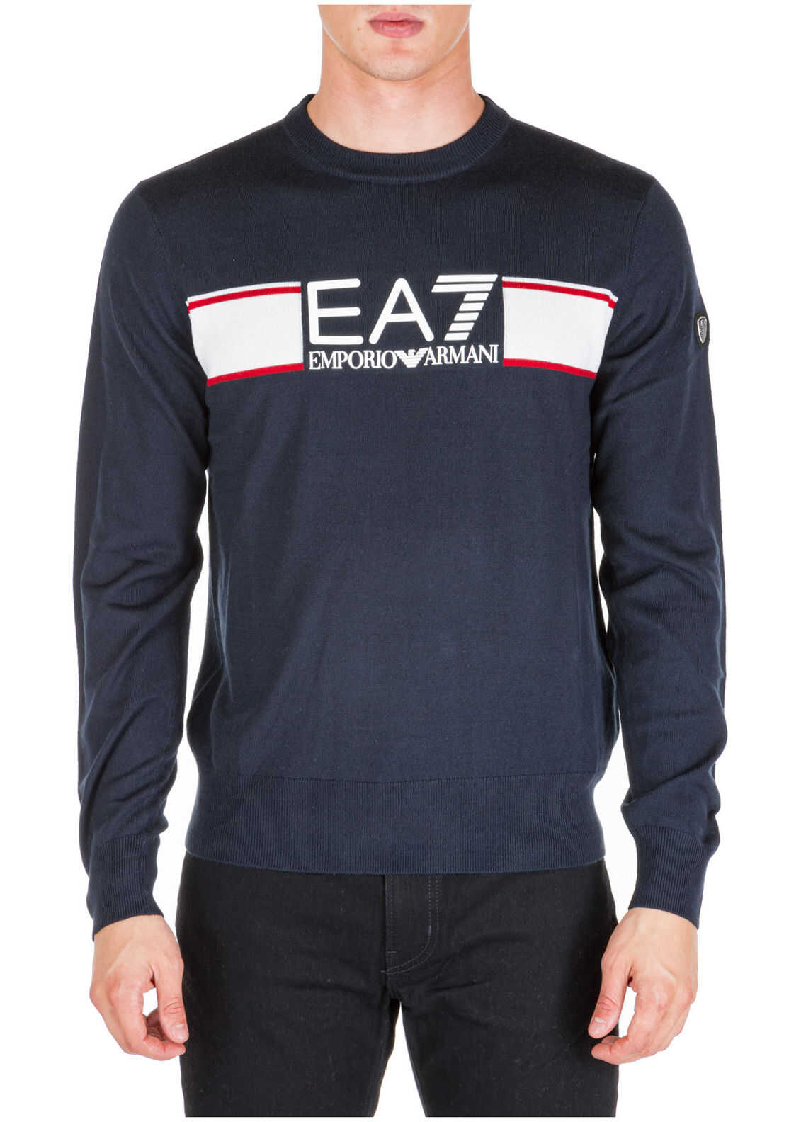 EA7 Sweater Pullover Blue