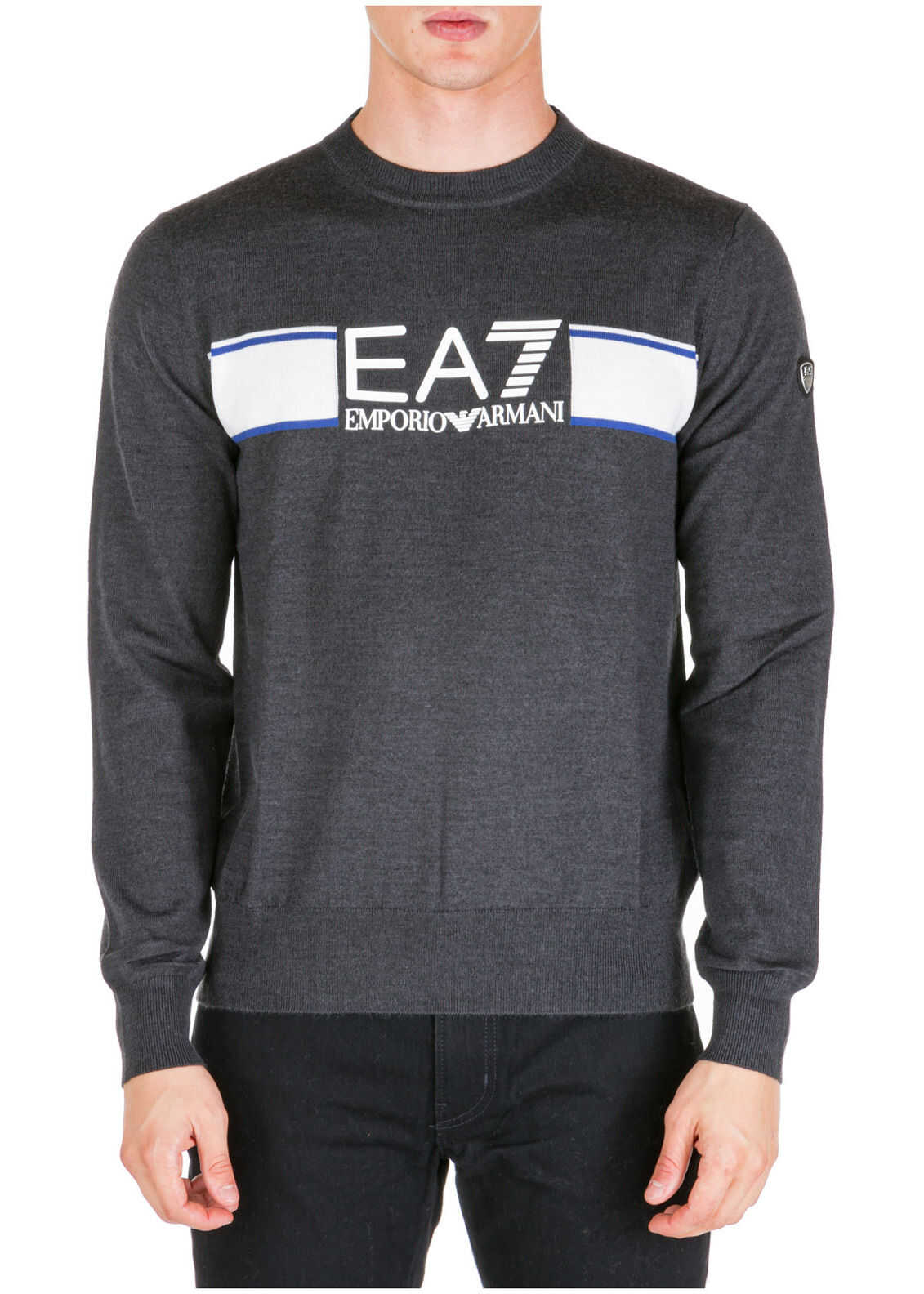 EA7 Sweater Pullover Grey