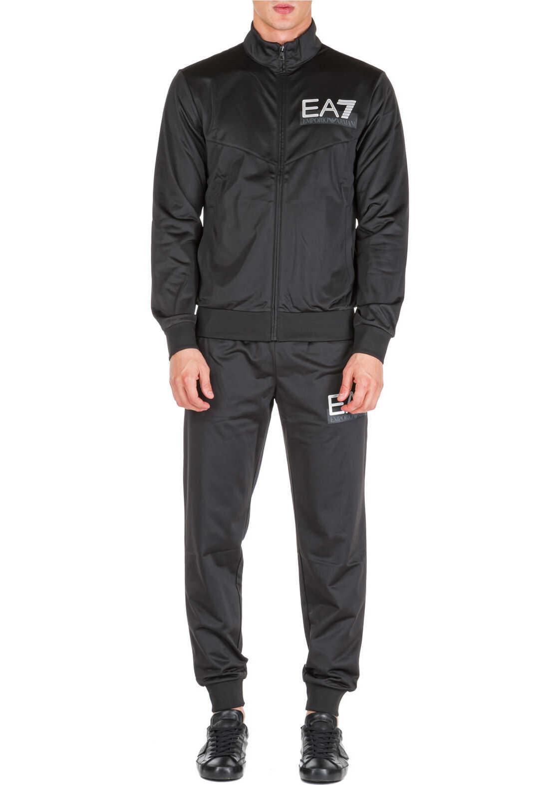 EA7 Sweatshirt Fashion Black