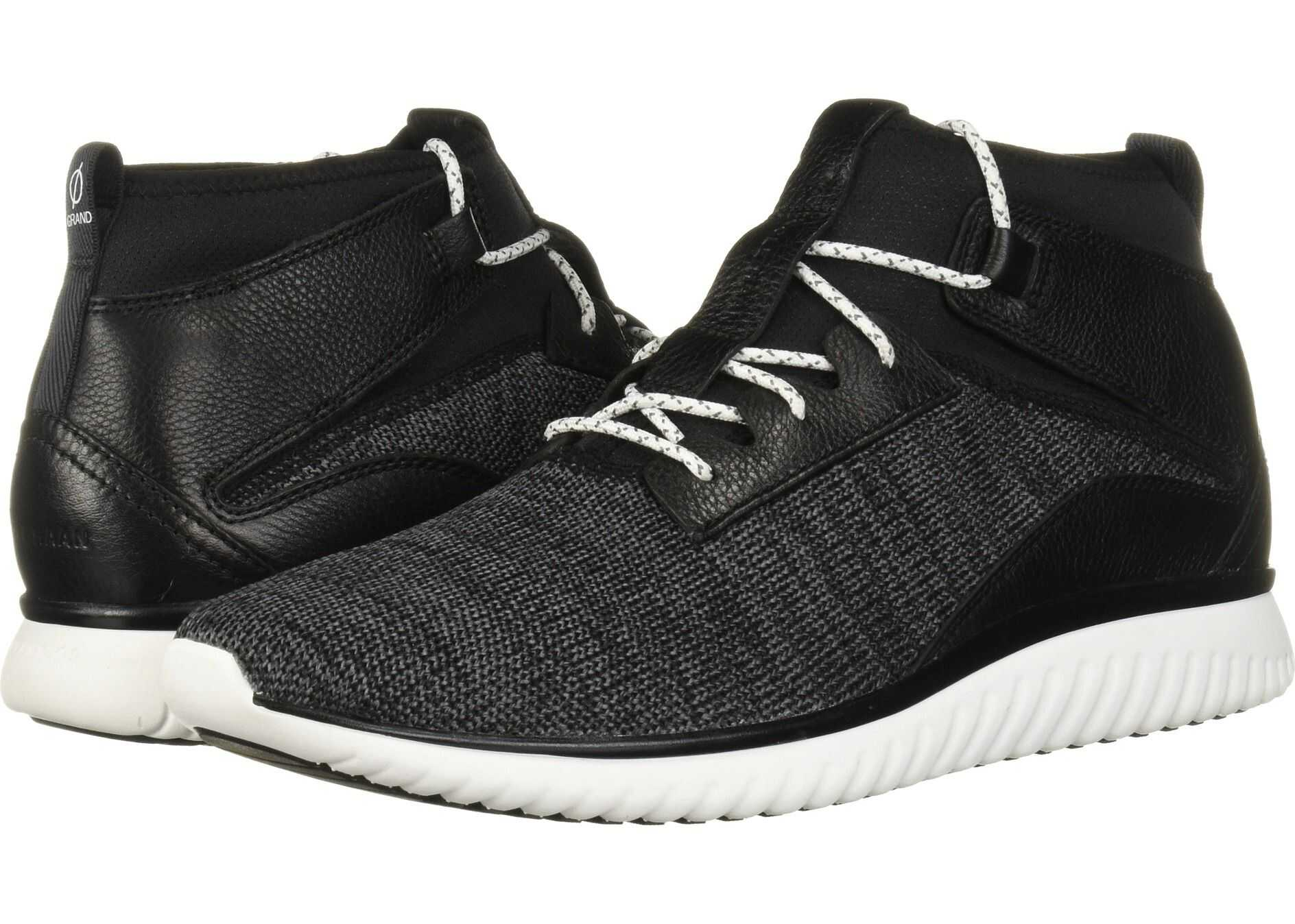 Cole Haan Grand Motion Mid Cut Black/Optic White