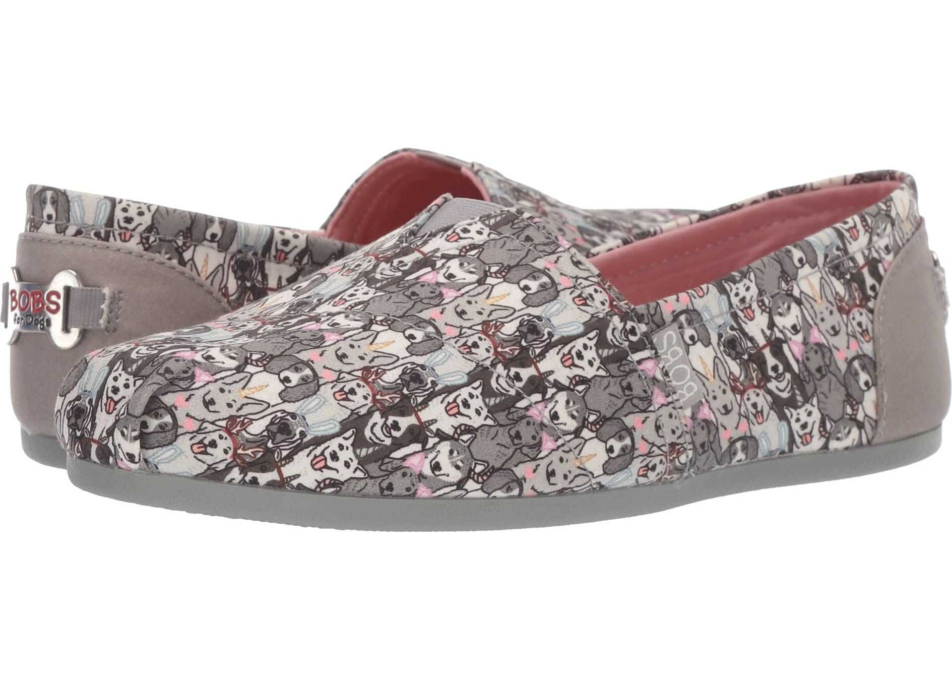 BOBS from SKECHERS Bobs Plush - Playdate Gray Multi