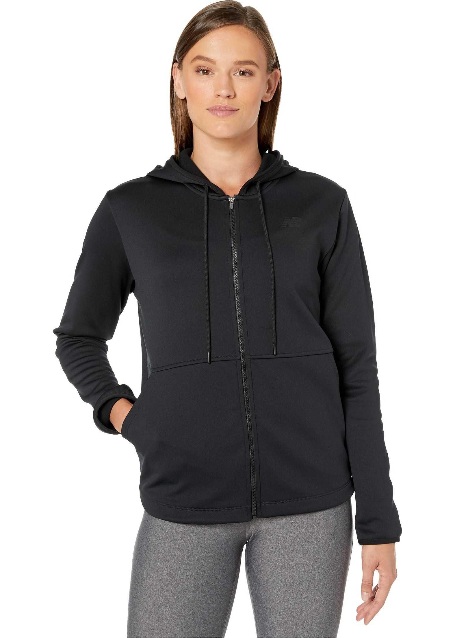 New Balance Relentless Fleece Full Zip Black