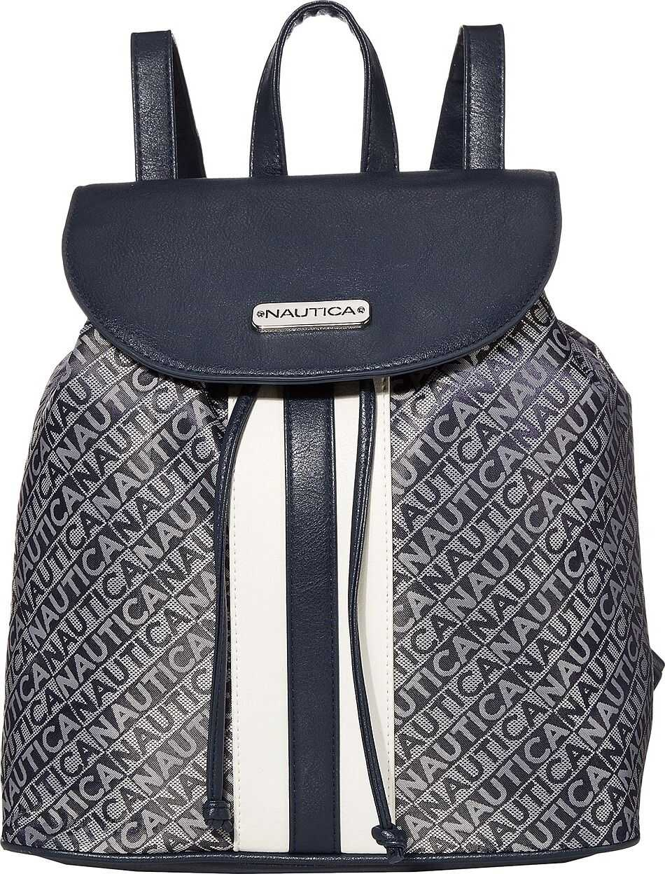 Nautica Lakeside Flap Backpack Indigo