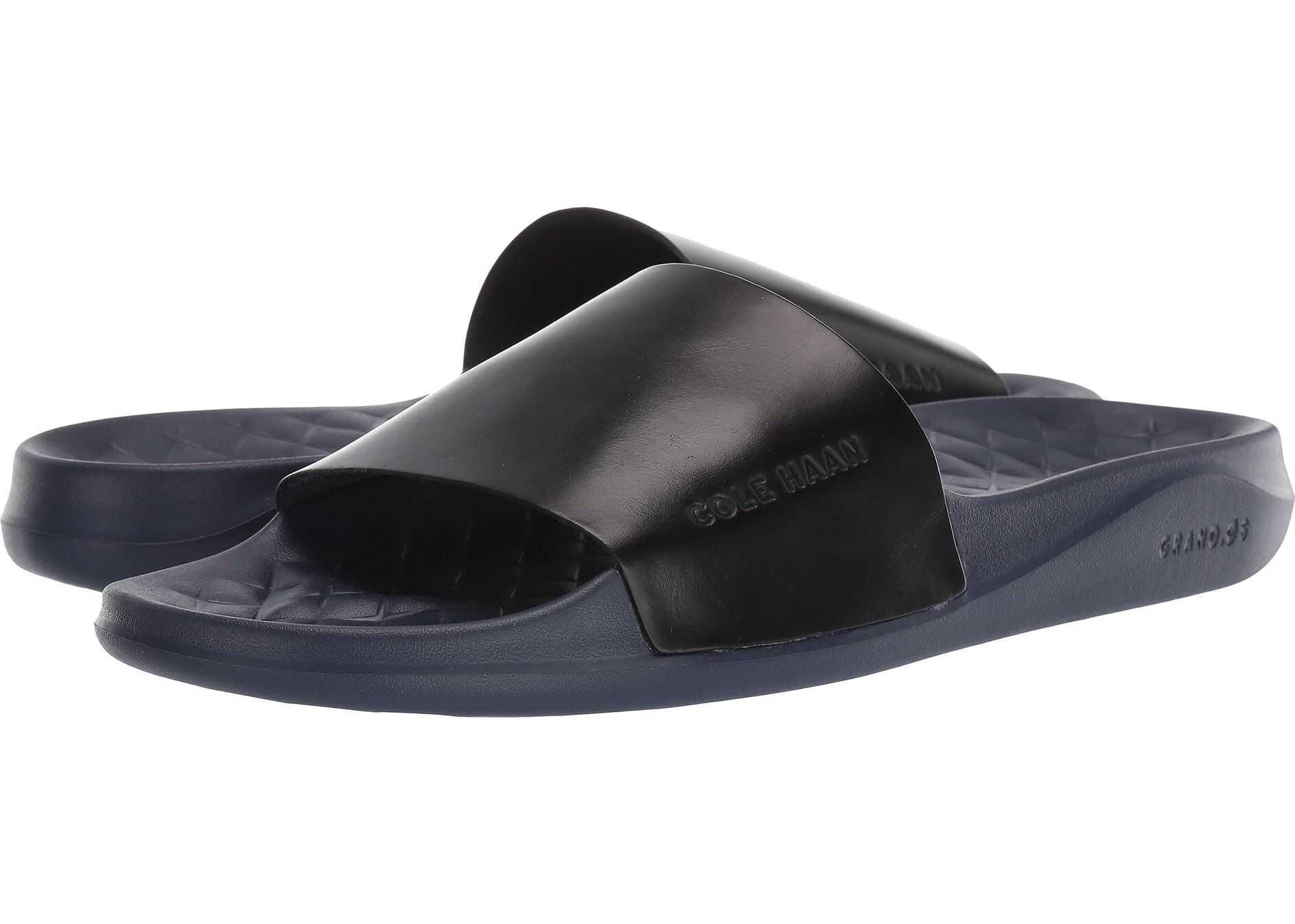 Cole Haan Grandpro Slide Marine Blue