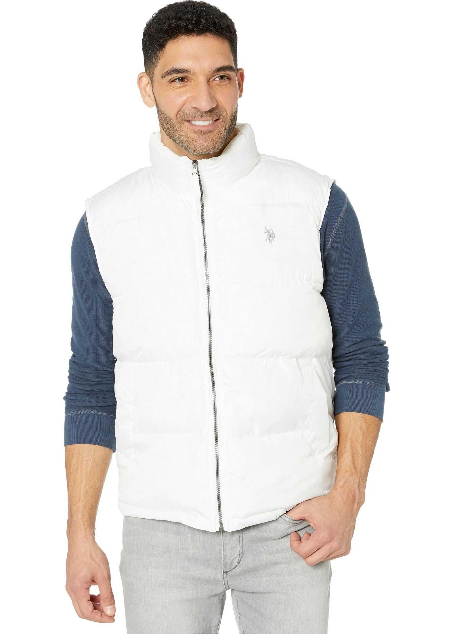 U.S. POLO ASSN. Signature Vest White