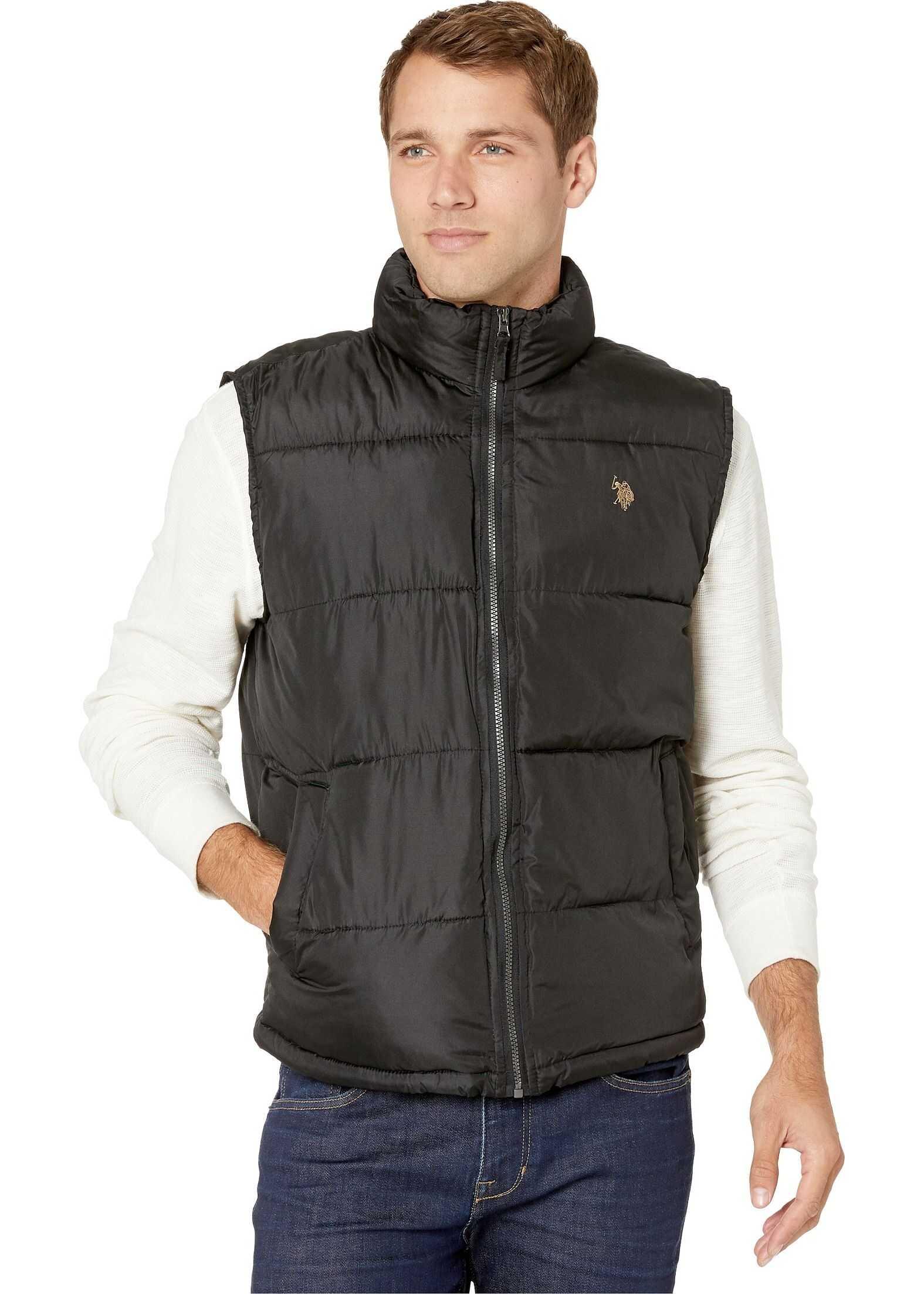 U.S. POLO ASSN. Signature Vest Black