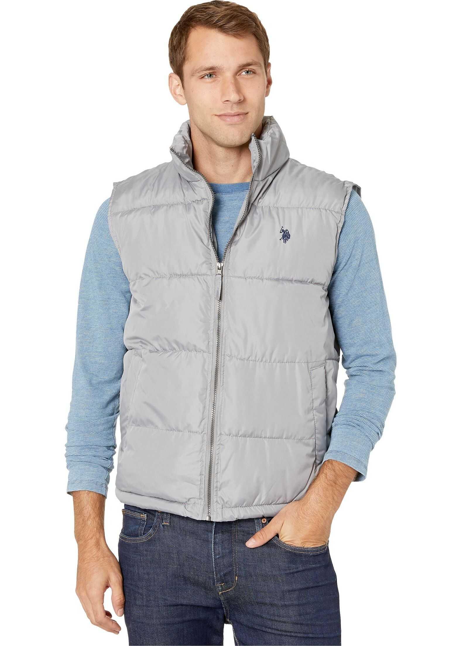 U.S. POLO ASSN. Signature Vest Vapor Grey